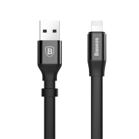 Кабель Baseus Two-in-one Portable Lightning/microUSB 23см Чёрный