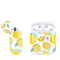 Чехол Kingxbar для Apple Airpods  Lemon