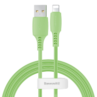 Кабель Baseus Colourful Cable USB - Lightning 2.4A 1.2м Зелёный
